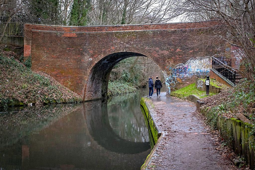Canal bridge at Acocks Green