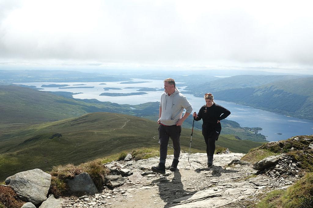 Climbing Loch Lomond