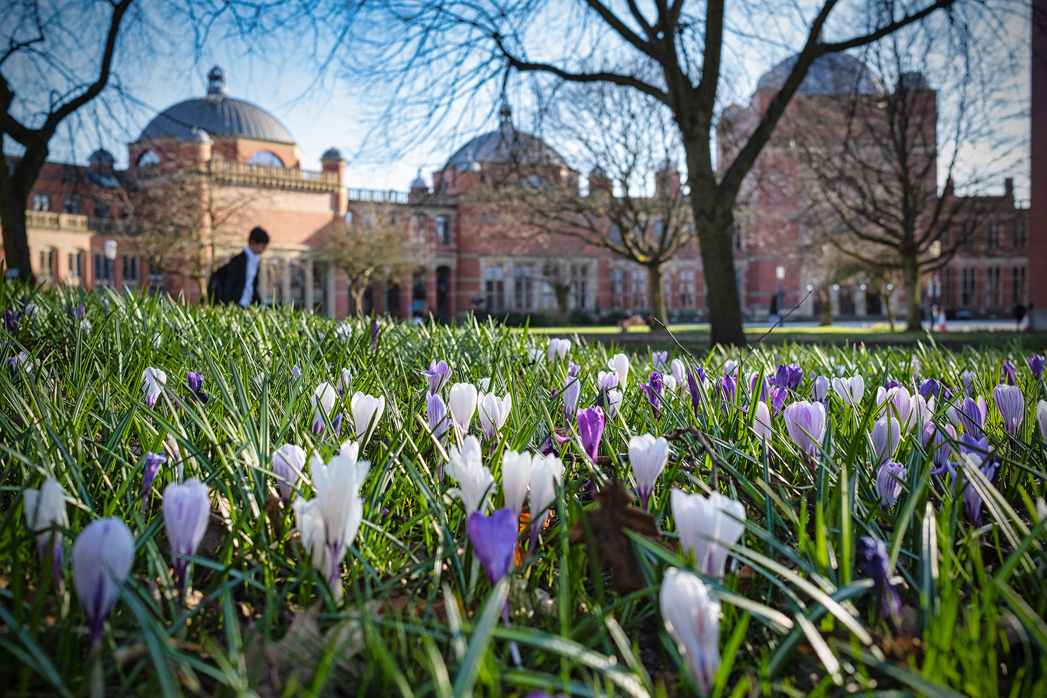 Spring 2021 on UoB Campus