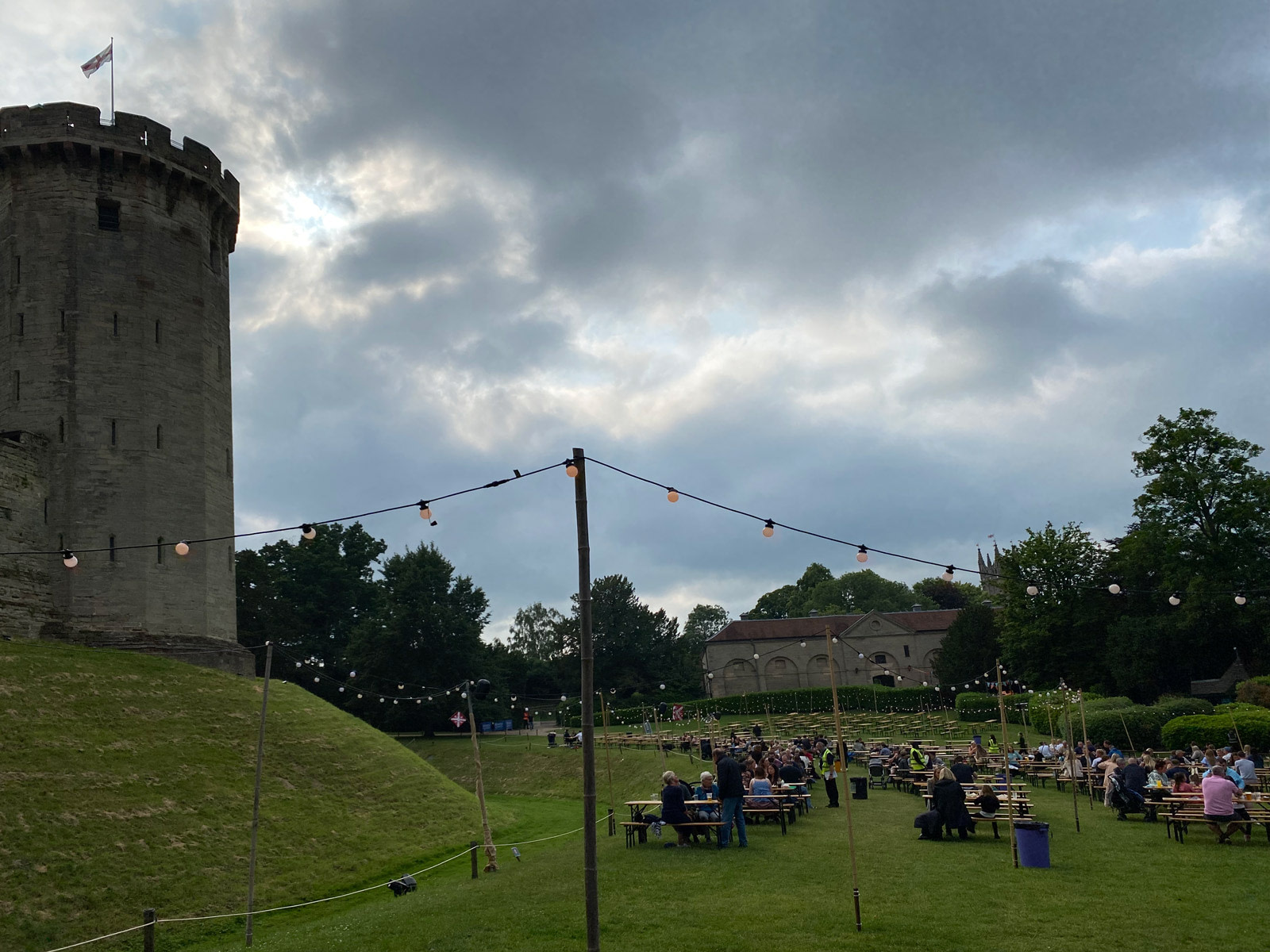 The Open Arms at Warwick Castle