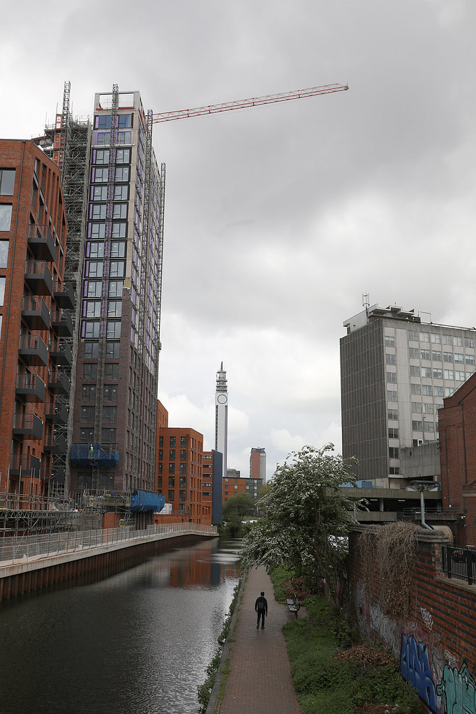 All change along the canal